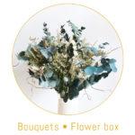 origine atelier floral boutons bouquet