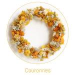 origine atelier floral boutons couronnes