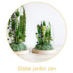origine atelier floral boutons globe jardin zen
