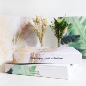 bouquet de fleurs séchées tableau photo duo origine moment suspendu5