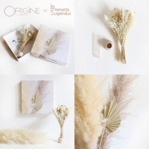 bouquet fleurs séchées origine atelier floral foret duo moments suspendu2