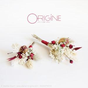 boutonnière-de-fleurs-séchées-mariage-ivoire-et-bordeaux-origine-atelier-floral