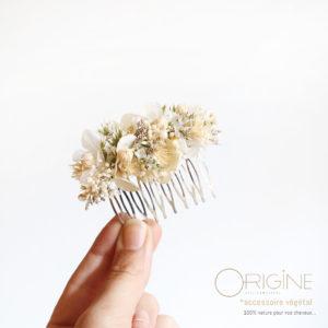 Peigne-fleurs-séchées-mariage-blanc-origine-atelier-floral