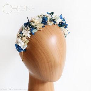 mariage-fleurs-séchées-stabilisées-bleu-marine-et-bleu-canard-Origine-atelier-floral9